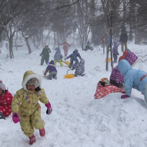 雪大好き!