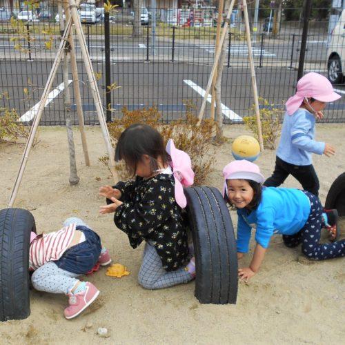 タイヤ、面白い!