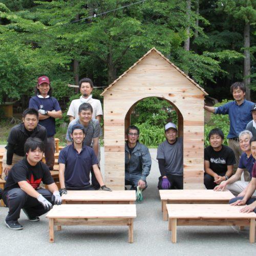 お父さんたちの木工プロジェクト!